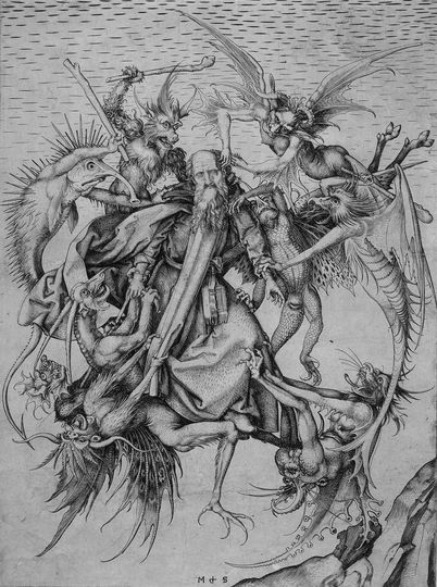 versuchung des heiligen antonius bosch