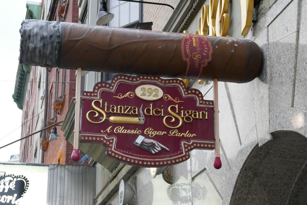 Stanza Dei Sigari History : Boston